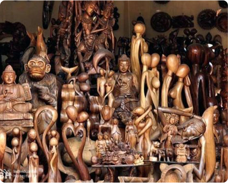 5 MUST BUY Souvenirs in Batubulan, Bali!
